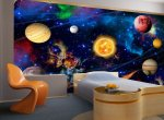 Interesting trend in decorating rooms' walls
